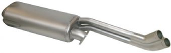 Rear Exhaust, Stainless Steel