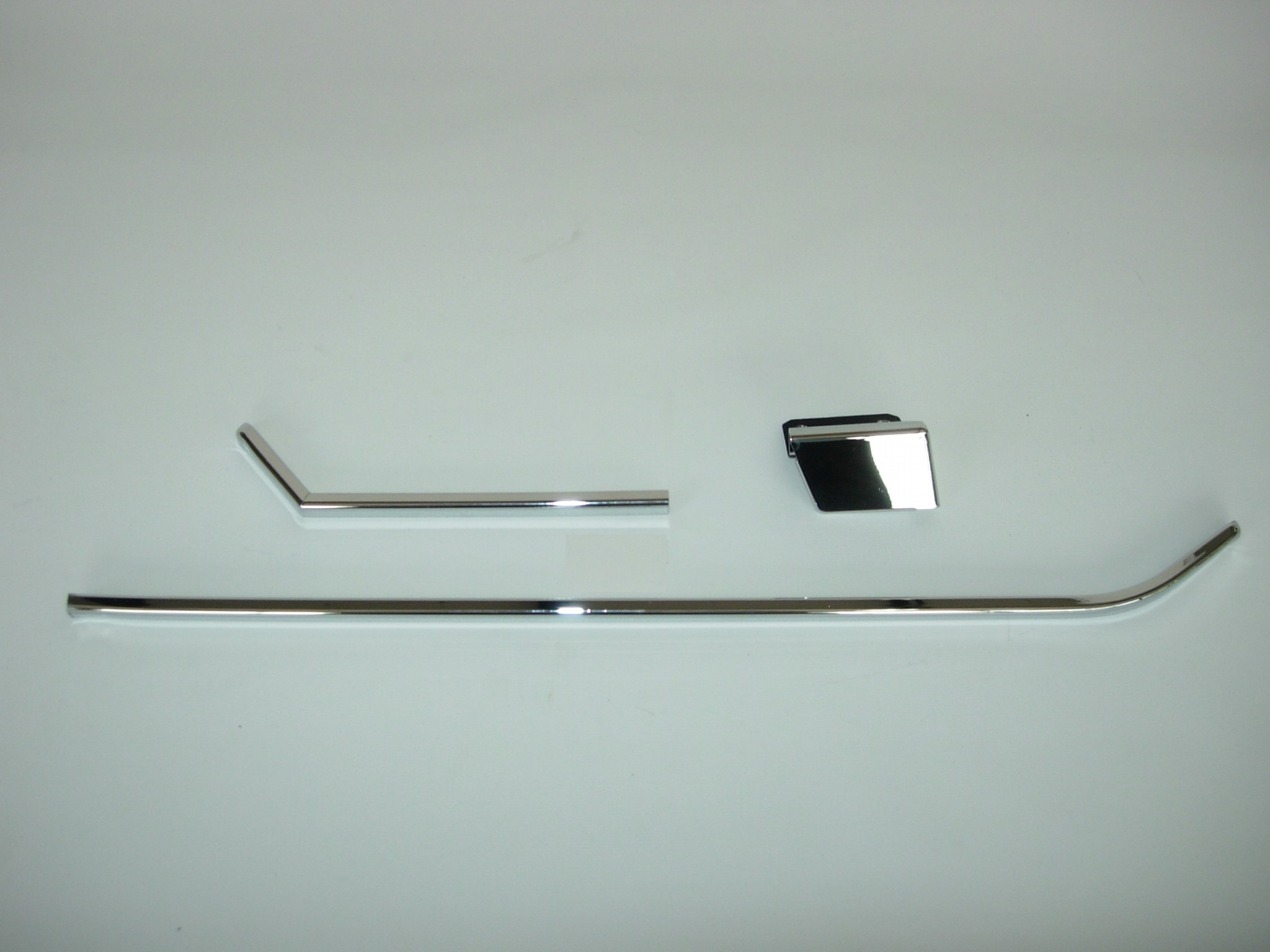 Chrome Strip Set For Rear Door Pocket Right