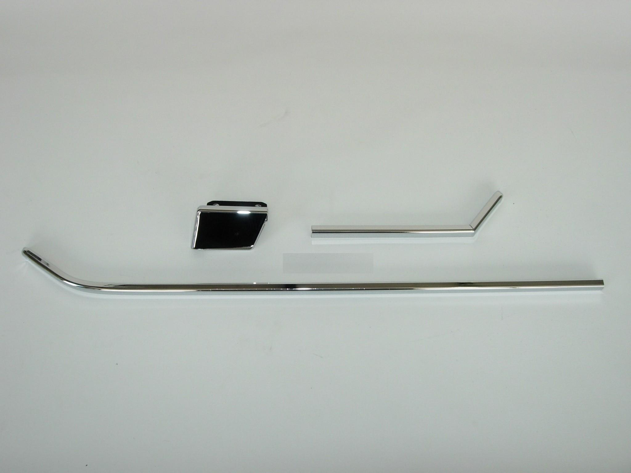 Chrome Strip Set For Rear Door Pocket Left