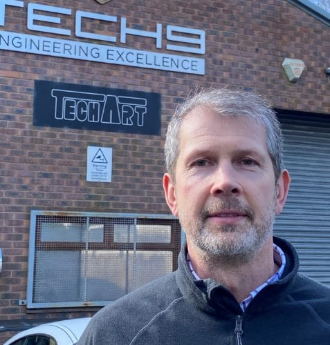 Phil Hindley Managing Director of Tech 9 Independent Porsche Specialist